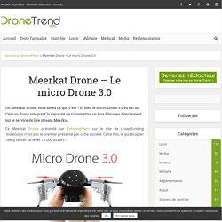 Meerkat Drone - Le micro Drone 3.0