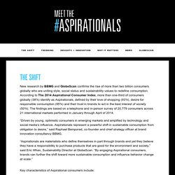 Meet the Aspirationals - The Shift