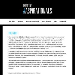 Meet the Aspirationals - The Shift