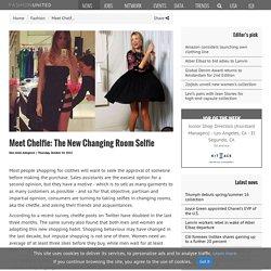 Meet Chelfie: The New Changing Room Selfie