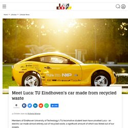 Meet Luca: TU Eindhoven's car made from recycled waste