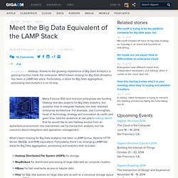 Meet the Big Data Equivalent of the LAMP Stack