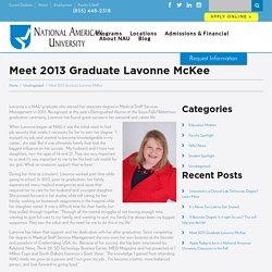 Meet 2013 Graduate Lavonne McKee - NAU