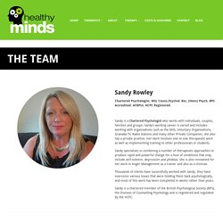 Meet the Team at Healthy Minds Stafford