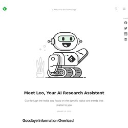 Meet Leo, your AI Research Assistant