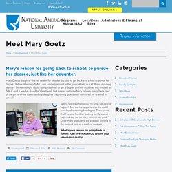 Meet Mary Goetz - NAU