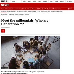 Meet the millennials: Who are Generation Y?