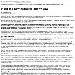 Meet the new hackers: Johnny Law