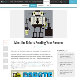 Meet the Robots Reading Your Resume