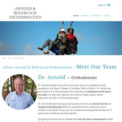 meet our team - Arnold Orthodontics