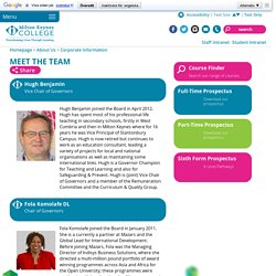 Meet the Team - MK College