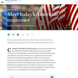 Meet today's American consumer