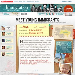 Meet Young Immigrants