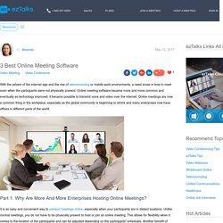 meeting online software