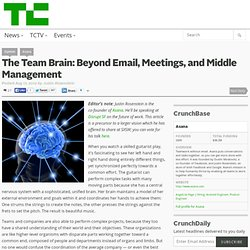 The Team Brain: Beyond Email, Meetings, and Middle Management