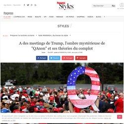 """A des meetings de Trump, l'ombre mystérieuse de """"QAnon"""" et ses théories du complot - L'Express Styles"""