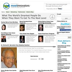 Where The Deals Get Done | MeetInnovators