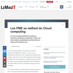 Les PME se méfient du Cloud computing::Cloud et Grid Computing
