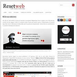 MEGA esce dalla beta - Resetweb
