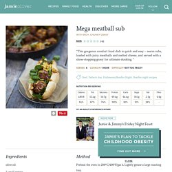 Mega Meatball Sub