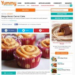 Mega Moist Carrot Cake