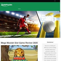Mega Moolah Slot Review 2020