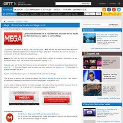 Mega : réouverture du site sur Mega.co.nz
