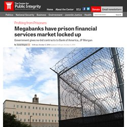 Prison Money Services Locked Up By Big Banks