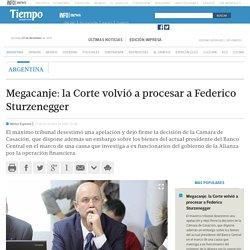 Megacanje: la Corte volvió a procesar a Federico Sturzenegger