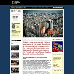 Megacities @ National Geographic Magazine