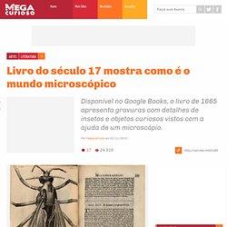 Megacurioso - Livro do século 17 mostra como é o mundo microscópico
