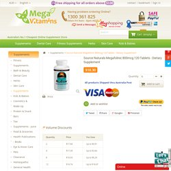 Buy Megafolinic Source Naturals Dietary Supplement Bioactive Form of Folic Acid