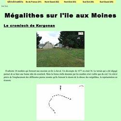 Mégalithes sur l'île aux Moines