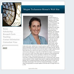 Megan Tschannen-Moran's Web Site