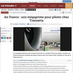 Sociétés : Air France : une méga prime pour piloter chez Transavia