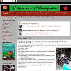 Pueblos de Chiapas se unen para denunciar megaproyectos y saludan a la iniciativa del CNI