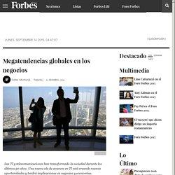 Megatendencias globales en los negocios