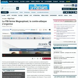 EN DIRECT. Le site Megaupload fermé, les Anonymous ripostent