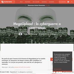 MegaUpload : la cyberguerre a commencé