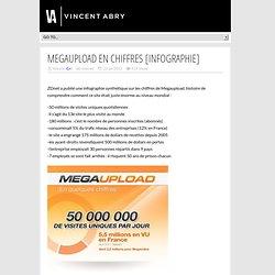 MegaUpload en chiffres [infographie]