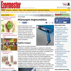 Műanyagok megmunkálása - Ezermester 2002/7