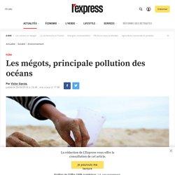 Les mégots, principale pollution des océans