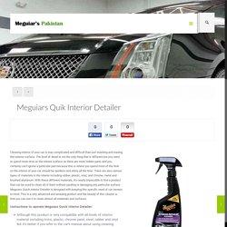Meguiars Quik Interior Detailer