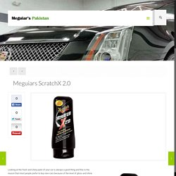 Meguiars ScratchX 2.0