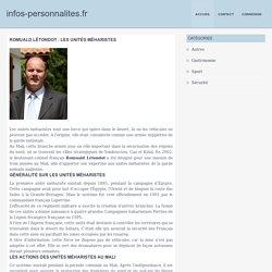 Romuald Létondot : les unités méharistes - infos-personnalites.fr