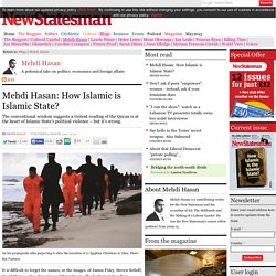 Mehdi Hasan: How Islamic is Islamic State?