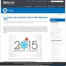 Le meilleur de l'actualité E-mail & Data Marketing 2014