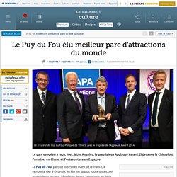 Le Puy du Fou élu meilleur parc d'attractions du monde