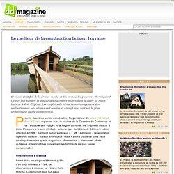 Le meilleur de la construction bois en Lorraine