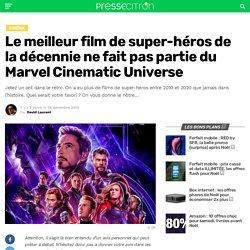 Le meilleur film de super-héros de la décennie ne fait pas partie du Marvel Cinematic Universe